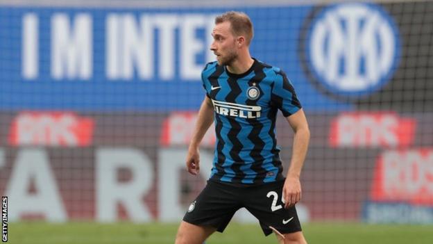 Christian Eriksen returns to Inter Milan for first time since cardiac arrest thumbnail