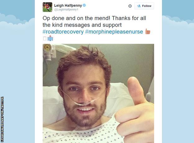 Leigh Halfpenny tweet