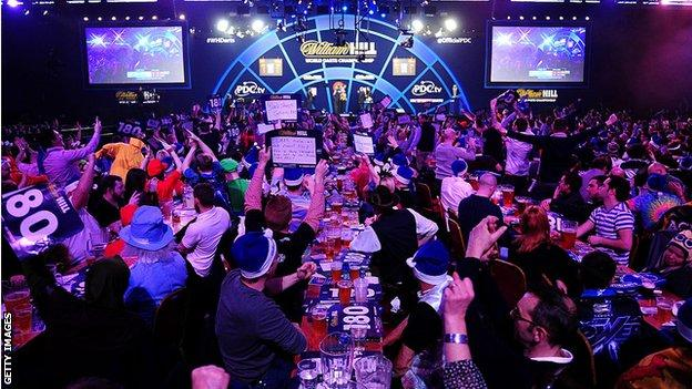 Alexandra Palace is the traditional home of the PDC World Darts Championships