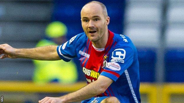 Inverness Caledonian Thistle full-back David Raven