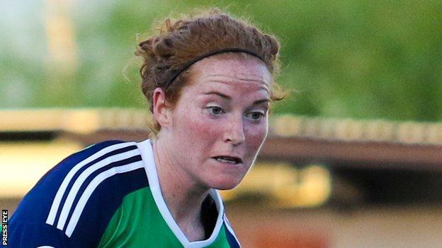 Marissa Callaghan was the Northern Ireland captain
