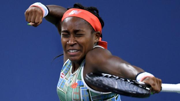 US Open 2019: Coco Gauff to play Naomi Osaka after impressive second-round win thumbnail