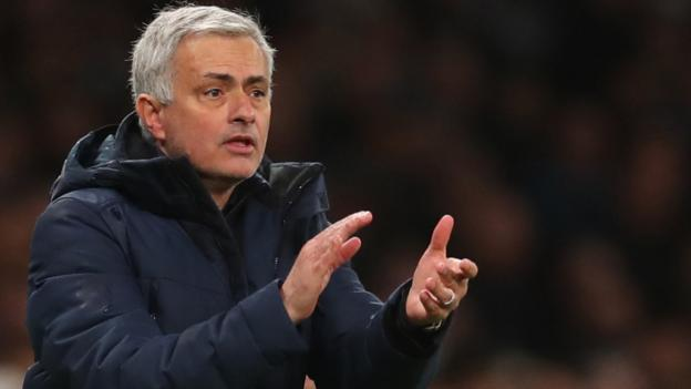 Jose Mourinho: Tottenham are 'smelling opportunity' for top-four finish thumbnail