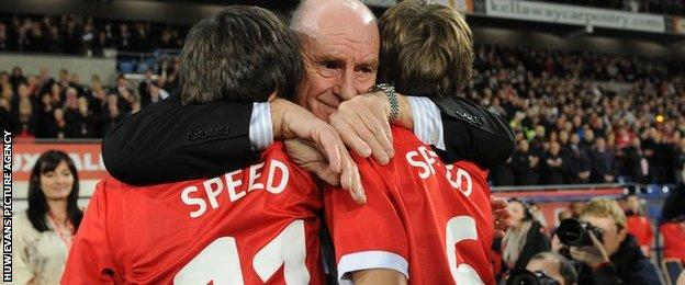 Roger Speed with Gary's sons Ed and Tommy