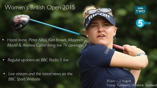 BBC golf infographic