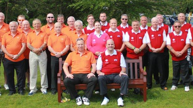 Graeme is the captain of Team England's disability golf team