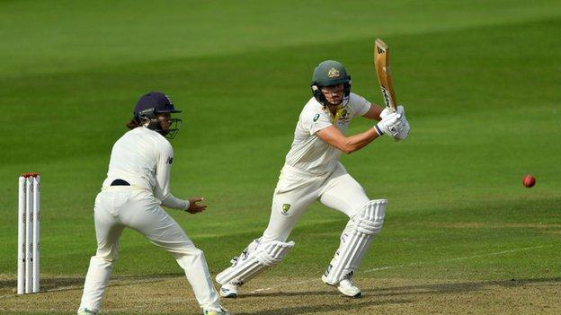 Women's Ashes: England's hopes of winning the series look bleak