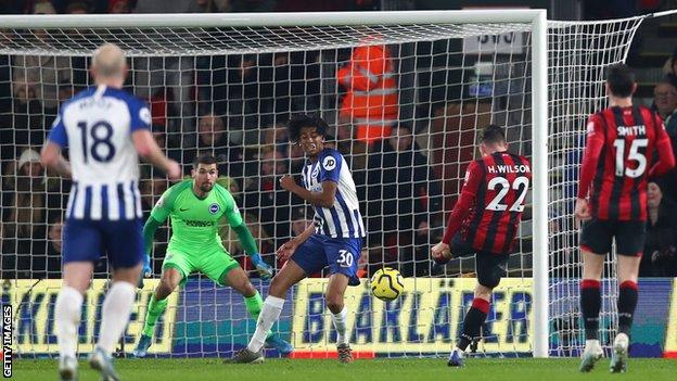 Harry Wilson scores for Bournemouth
