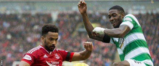 Shay Logan and Tyler Blackett