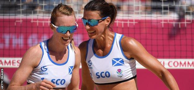 Lynne Beattie and Melissa Coutts