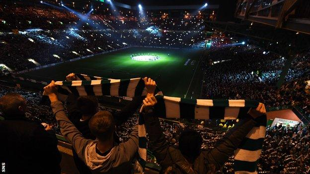 Celtic's 'disco lights'