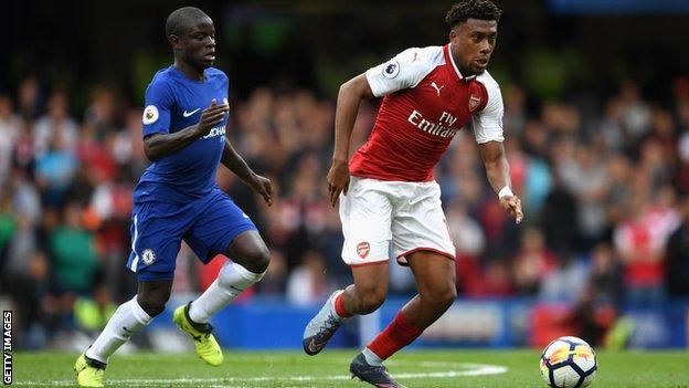 Arsenal forward Alex Iwobi