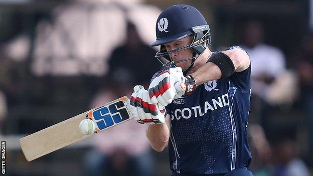 Richie Berrington top scored for Scotland with 37