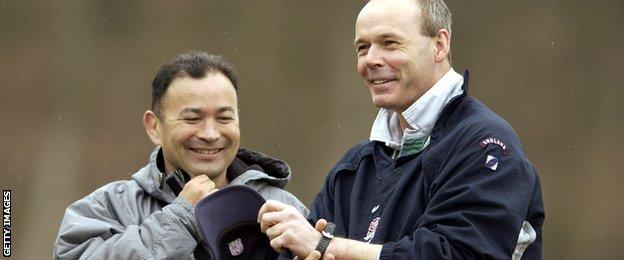 Eddie Jones and Clive Woodward