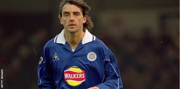 Roberto Mancini of Leicester City
