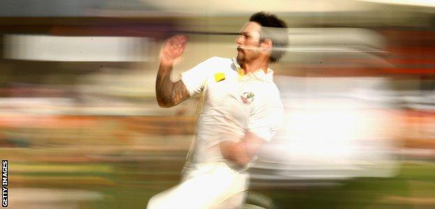 """You feel like you can do nothing wrong"" - Mitchell Johnson on the feeling of being in supreme form"