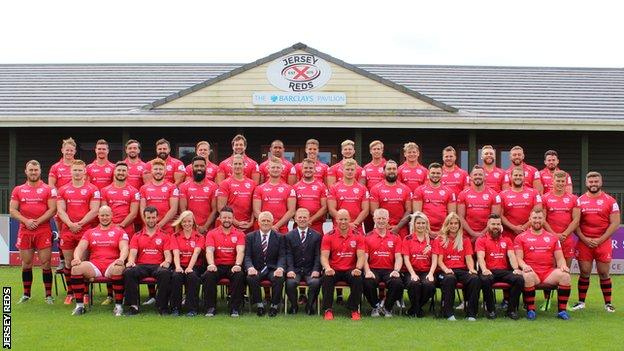 Jersey Reds team photo