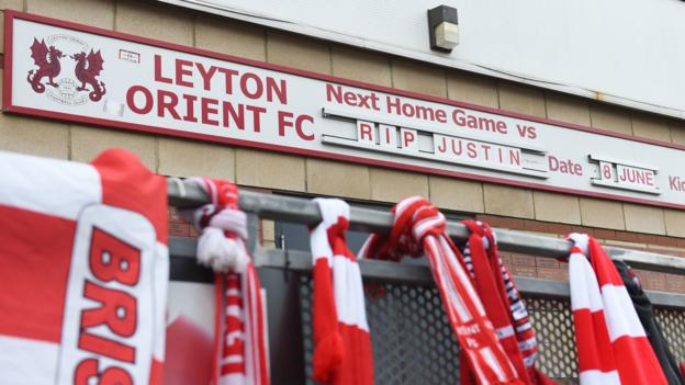 Justin Edinburgh: Leyton Orient fans and players share grief over late manager