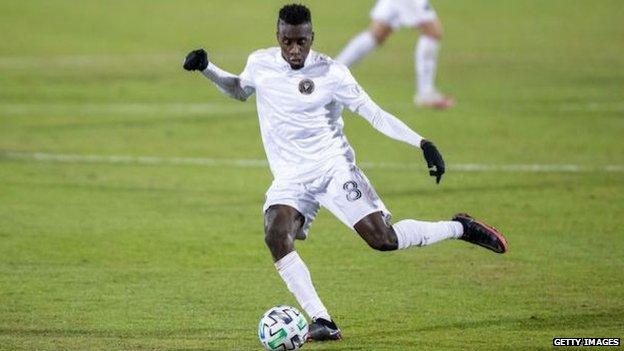Blaise Matuidi playing for Inter Miami