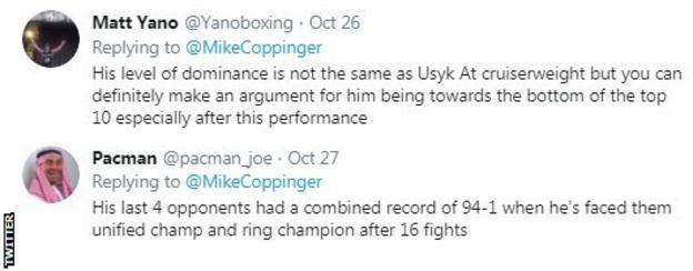 Twitter reaction to Josh Taylor win over Regis Prograis