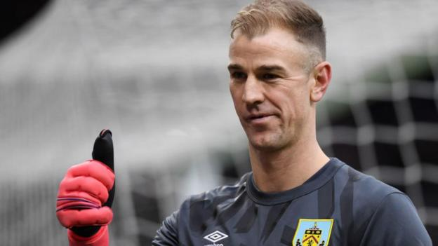 Former England keeper Hart to join Spurs after leaving Burnley