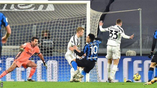 Inter Milan, Coppa Italia yarı final ikinci maçında Juventus ile yakınlaşıyor