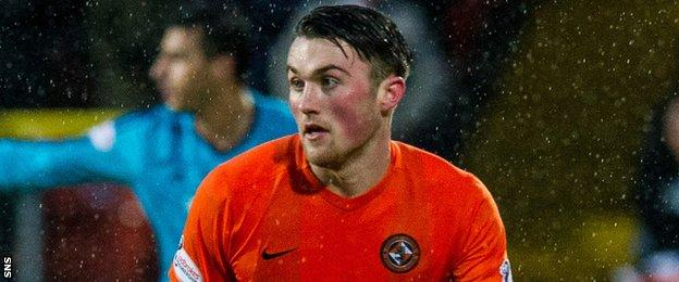 Dundee United defender John Souttar