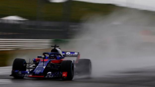 Toro Rosso: Pierre Gasly has 'great first day' with Honda