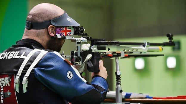 GB Para-shooter Ryan Cockbill