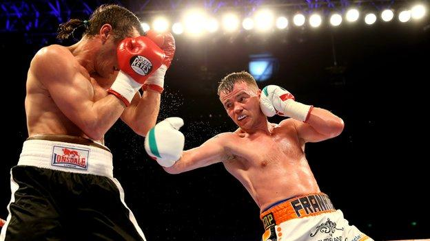 Frankie Gavin's last victory was on points against Bogdan Mitic at Sheffield in March