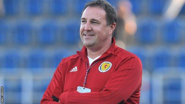 Ross County manager Malky Mackay