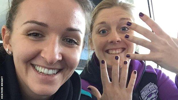 Kate Cross and Heather Knight