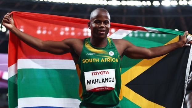 Ntando Mahlangu of South Africa