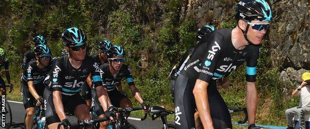 Team Sky and Chris Froome