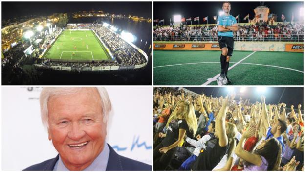 Socca World Cup: Mark Clattenburg and Ron Atkinson at Crete six-a-side tournament