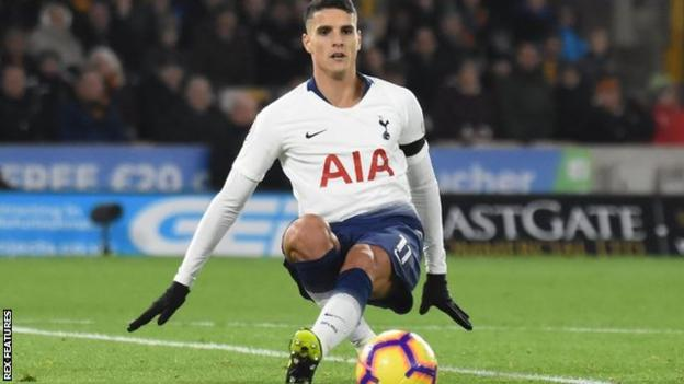 Tottenham's Erik Lamela