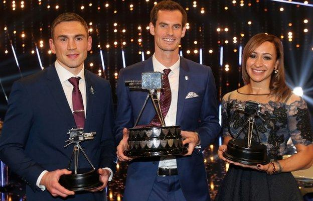 BBC Sports Personality of the Year 2015 top three