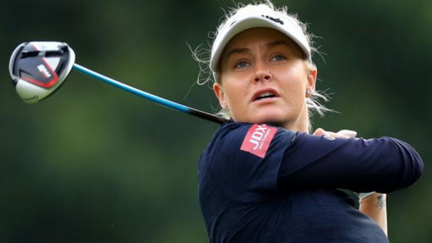 Women's British Open: Charley Hull makes strong start thumbnail
