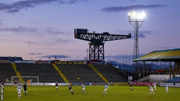 Cappielow Stadium, Greenock