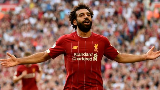 Liverpool 3-1 Arsenal: Mohamed Salah scores twice for Reds thumbnail