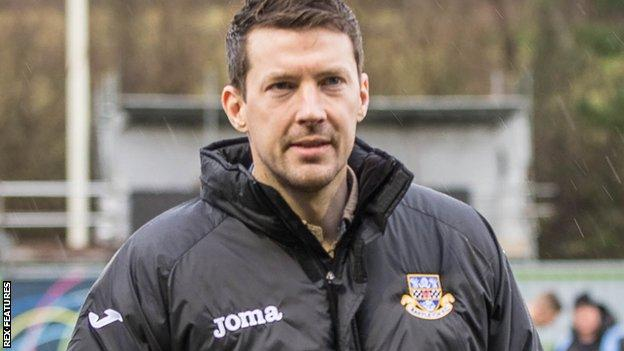 Eastleigh manager Chris Todd