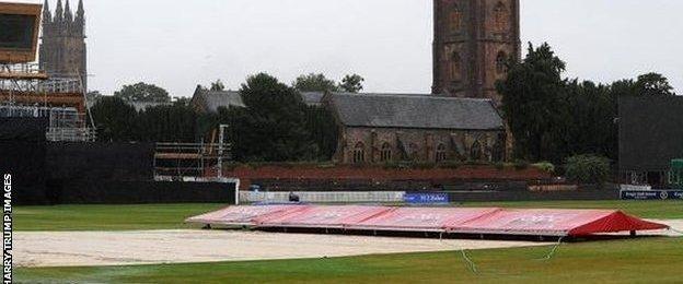 Somerset's ground at Taunton