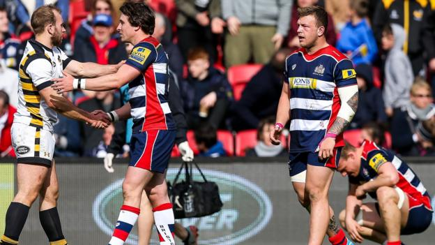 Premiership bristol rugby 21 36 wasps bristol relegated to championship bbc sport - English rugby union league tables ...