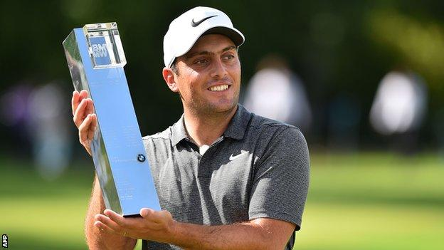 Francesco Molinari has equalled fellow Italian Costantino Rocca's five European Tour titles