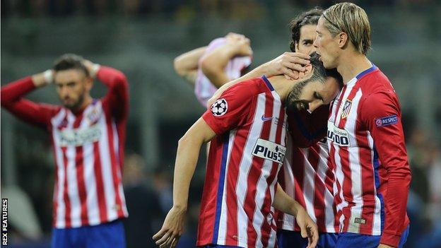 Atletico Madrid react to losing last season's Champions League