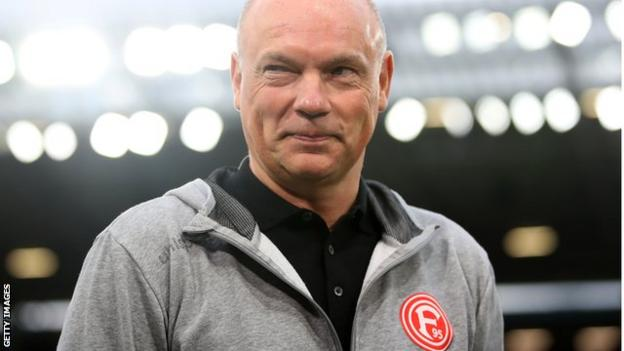 Fortuna Dusseldorf boss Uwe Rosler says there are nerves ahead of the return of Germany's top-flight