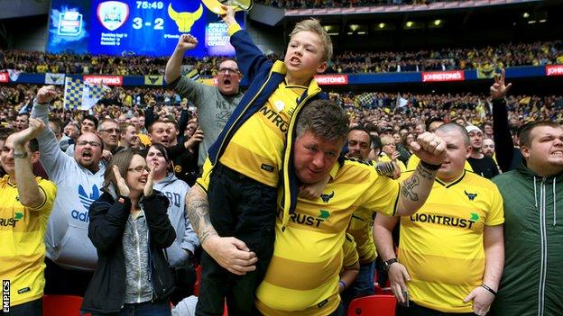 Oxford United fans
