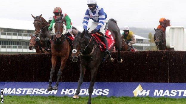 Frodon was winning over fences at Cheltenham for the sixth time