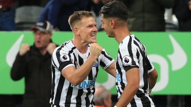 Newcastle 1-0 Watford: Perez earns Magpies first win of ...