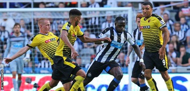 Ben Watson and Etienne Capoue